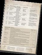 Fragments - Pulverdampf Regelübersicht