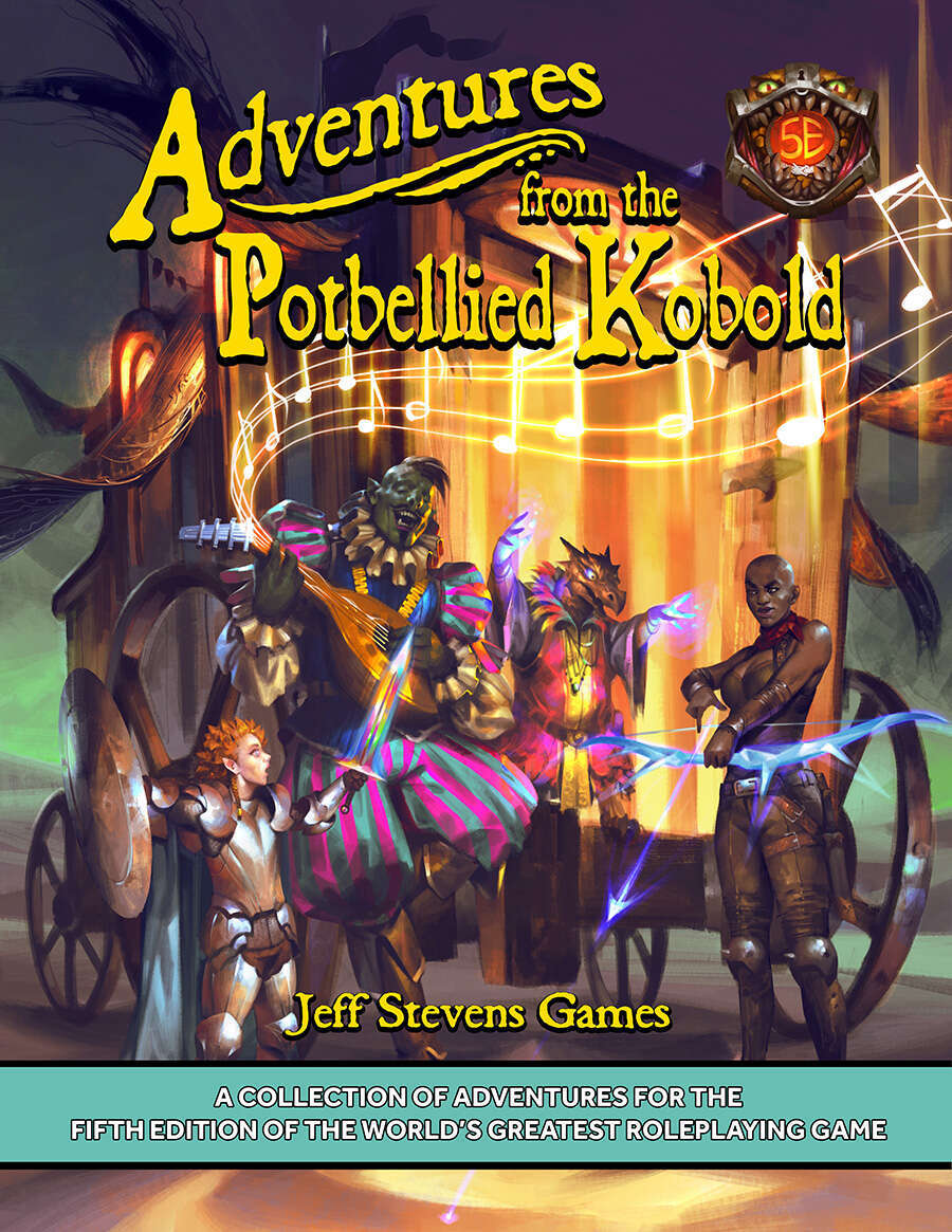 Adventures from the Potbellied Kobold Cover