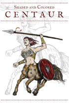 Centaur Character Art
