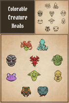 Creature Heads Pack