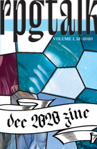 RPG Talk Community Zine - December 2020
