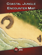 Coast Jungle Encounter Map