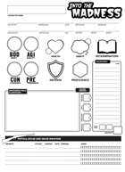 Into the Madness - Character Sheet