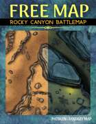 Rocky Canyon Battlemap