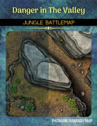 Danger in The Valley - Jungle Battlemap