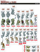 Friends & Foes: Reptilemen