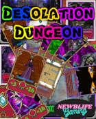 Desolation dungeon Hero and treasure cards