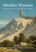 Weather Almanac - Temperate Continental Highlands