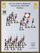 4th Line Regiment. Fusiliers