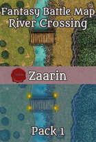 40x30 Battle Map - River Crossing