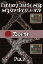 40x30 Battle Map - The Mysterious Cave Pack1