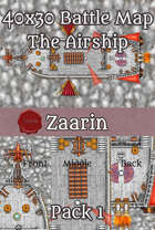 40x30 Fantasy Battle Map - The Airship Pack 1