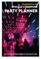 UPSCALE CYBERPUNK PARTY PLANNER