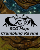 Crumbling Ravine (40x40)