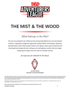 DDAL04-02 The Beast (5e) Expansion [OPTIONAL CONTENT]