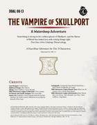 DDAL08-13 The Vampire of Skullport