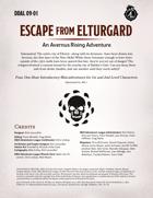 DDAL09-01 Escape From Elturgard