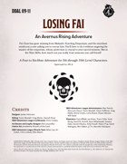 DDAL09-11 Losing Fai