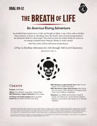 DDAL09-12 The Breath of Life