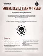 DDAL09-20 Where Devils Fear to Tread
