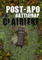 Abandoned car post-apo battlemap