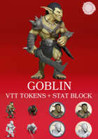Goblin VTT Tokens - Yasashii Kyojin Studio