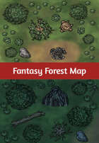 Fantasy Forest Map