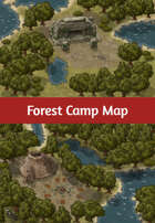 Forest Camp Map
