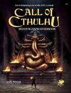 Call of Cthulhu Investigator Handbook 7th Edition