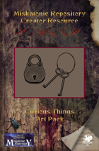 Miskatonic Repository Curious Things Art Pack
