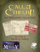 The Miskatonic Collection – Volume 4 – Medical Forms
