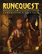 RuneQuest - GameMaster Screen Pack