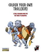 Colour Your Own Troll(kin)