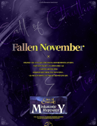 Korean Only / Fallen November