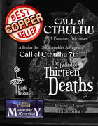 The Ballad of Thirteen Deaths (Pamphlet Adventure)