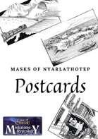 Post Card - Peru - Masks of Nyarlathotep