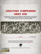 Jonstown Compendium Index [2021]