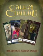Call of Cthulhu Keeper Decks