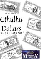 Full set of Cthulhu dollars