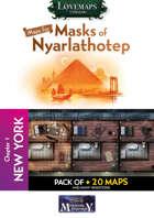 Cthulhu Maps - Masks of Nyarlathotep - ch1 - New York Pack