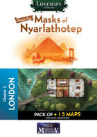 Cthulhu Maps - Masks of Nyarlathotep - ch2 - London Pack