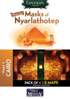 Cthulhu Maps - Masks of Nyarlathotep - ch3 - Cairo Pack