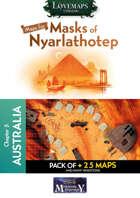 Cthulhu Maps - Masks of Nyarlathotep - ch5 - Australia Pack