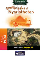 Cthulhu Maps - Masks of Nyarlathotep - Prologue - Peru Pack