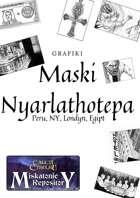 Grafiki Maski Nyarlathotepa [BUNDLE]