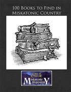 100 Books to Find in Miskatonic Country