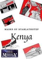 Art for Kenya - Masks of Nyarlathotep
