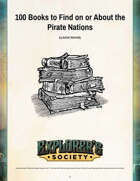 100 Books to Find in or About the Pirate Nations