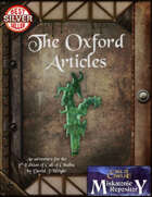 The Oxford Articles