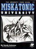 Miskatonic University Guidebook